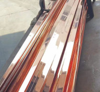 厂家直供 铜包钢扁线 电镀铜覆扁钢 铜覆钢钢带 安阳风电接地镀铜扁铁量大从优