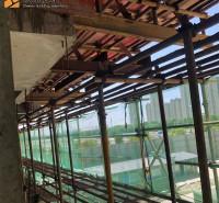 悬挑焊接花篮 新型短肢工字钢 外架承力架悬挑梁 建筑用预埋式悬挑工字钢