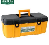 老A(LAOA)工具箱空箱 五金配件收纳箱塑料储物箱手提箱 26英寸 LA109426