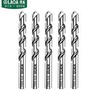 老A(LAOA)M2高速钢全磨制麻花钻头不锈钢钻头6.0mm LA166060(10支装)