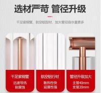 三阳家用水暖壁挂式铜铝复合80*80暖气片可定制