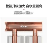 张家口三阳家用水暖 散热器集中自采暖客厅卧室壁挂式铜铝复合80×95