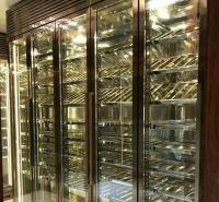 专业定制不锈钢酒柜 酒架 不锈钢红酒柜 不锈钢置物架 标艺不锈钢厂家定制