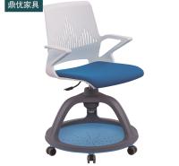 课堂学习节点椅 大学录播教室椅子厂家 背后带写字板培训椅