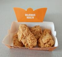 包邮船型免折纸盒 鸡腿鸡翅船盒 鸡柳鸡排打包盒 小吃鸡块船盒子厂家直销