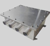 电缆保护接地箱 三相四孔含保护层保护器 不锈钢电缆接地箱