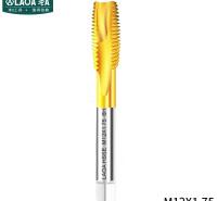 老A(LAOA)含钴镀钛先端丝锥 攻镀钛钻头螺丝机用丝锥M12*1.75单支 LA160212