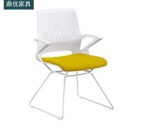 叠层会议办公椅 顺德培训椅厂家直销 网布洽谈桌椅 鼎优培训椅