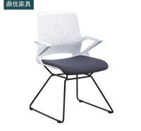 可堆叠会议椅 12厘实心钢筋椅厂家直销 会议室座椅 鼎优培训椅