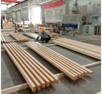 厂家定做樟子松胶合木 结构用胶合木