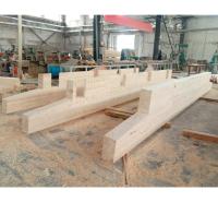 木结构建筑 木屋材料 胶合木厂家加工樟子松胶合木