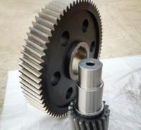 齿轮轴 硬齿面伞齿轮 齿轮轴花键轴 支持加工定制