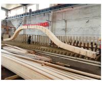 曲形胶合木 异形胶合木 弧形胶合木厂家直供