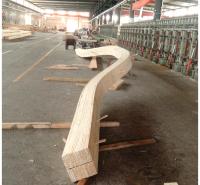 南通胶合木厂家定做弧形胶合木 异型胶合木梁柱