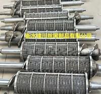 厂家供应 高圆度固液分离机筛网 除油过滤器 多规格楔形筛网