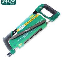 老A(LAOA)4合1多功能铝合金钢锯架 手用锯弓 手锯锯子带锯条LA114012