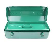 老A(LAOA)铁皮工具箱收纳箱 加厚车载手提箱 Y形箱子 20英寸 LA113220