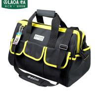 老A(LAOA)电工工具包 电讯通信包 牛津布手提包维修包收纳包 黄边 LA212807