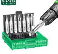 老A(LAOA)台湾原产滑牙螺丝取出器梅花头断丝拆除工具T10-T40 LA350102