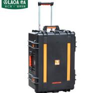 老A(LAOA)拉杆箱工具箱 设备箱防震仪表箱战备物资周转箱21英寸 LA115321