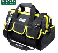 老A(LAOA)电工工具包 电讯通信包 牛津布手提包收纳包 黄边 LA212808