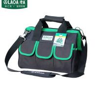 老A(LAOA)电工工具包 电讯通信包 牛津布手提包维修包收纳包 绿边 LA212818