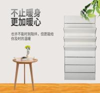济南三阳铜铝家用水暖卫生间折翼小背篓暖气片支持定制