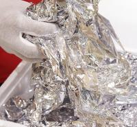 工艺品用高亮度不变色鎏银箔 天花线条用银箔亮度银箔 银箔  金梓箔业厂家直供