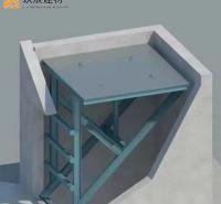 现货供应 电梯井平台 施工用电梯井操作平台 电梯井口操作平台 按时发货