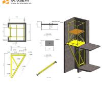 现货供应 电梯井平台 建筑施工操作平台 电梯井口操作平台 来电咨询