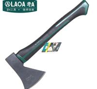 老A(LAOA)双色柄木工斧头 劈柴伐木野营斧子开山斧600g LA144600