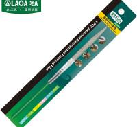 老A(LAOA)金刚石锉刀 整形锉什锦锉 修毛边锉子 三角尖锉5x180mm LA165404