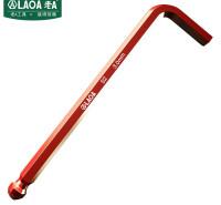 老A(LAOA)加长球头内六角扳手3.0mm单支LA310303