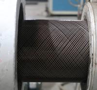 市政工程PE埋地排水用管现货供应  定制DN160钢丝网骨架增强聚乙烯塑料复合管