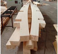 云杉胶合木 异型胶合木 木结构加工厂 定做 预制加工