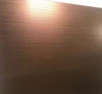 佛山 古铜飘逸纹不锈钢 氧化彩色不锈钢装饰板 压纹装饰板【山禾】 源头厂家