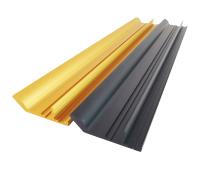 卡板拉手厂家 拇指款铝合金卡板拉手定做 顶佳铝业 门配封边拉手厂家直销