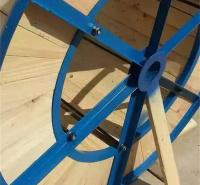 铁木轴盘 热轧电缆轴盘 铁木电缆轴盘架子 按需定制 鸿禹线缆