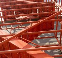 利科出售 建筑桥梁安全爬梯 挂网式安全爬梯 工地用承插式安全爬梯 来电订购