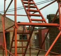 75加强型施工安全爬梯 建筑之字形安全爬梯 墩柱施工安全爬梯 来电订购