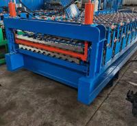 双层铁皮压瓦机 C10-C21双层全自动压瓦机 飞扬双层彩钢压瓦机