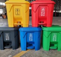 新洁源厂家直供 50L干湿分离桶 餐厨分类垃圾桶 深圳